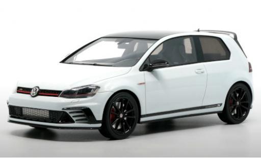 Volkswagen Golf 1/18 DNA Collectibles VII GTI Clubsport S blanche/noire 2014