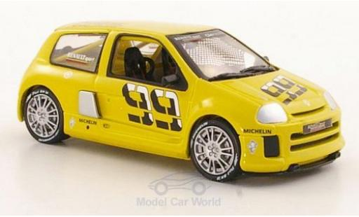 Renault Clio V6 1/43 Eagle II No.99 Trophy Präsentationsfahrzeug miniature