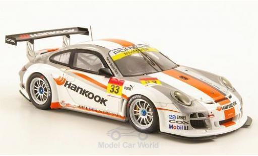 Porsche 997 SC 1/43 Ebbro (997) GT3-R No.33 Hankook Super GT300 2011 miniature