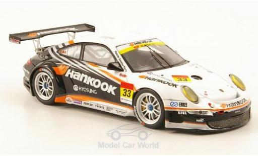 Porsche 997 GT3 1/43 Ebbro 911  No.33 Hankook Super 00 2010 M.Kinoshita/M.Kageyama/T.Fujii diecast model cars