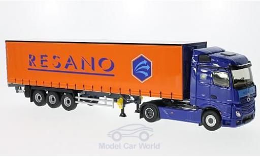 Mercedes Actros 1/43 Eligor 2 Streampace Resano Gardinenplanen-SZ miniature