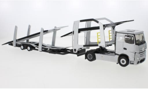 Mercedes Actros 1/43 Eligor 5 grise 2020 Autotransporter miniature