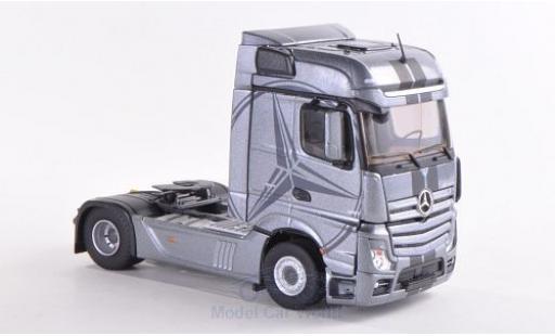 Mercedes Actros 1/43 Eligor 2 Bigspace grise miniature