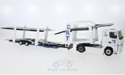 Mercedes Actros 1/43 Eligor 2 CAT Autotransporter miniature