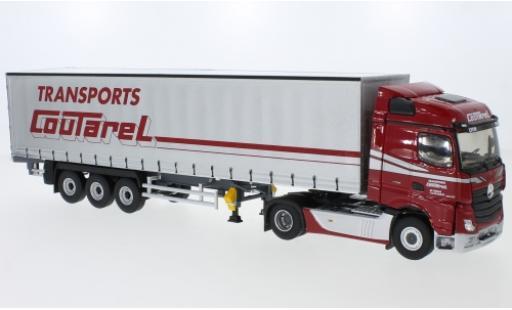 Mercedes Actros 1/43 Eligor 5 Streamspace Transports Coutarel bache de camion-tracteur miniature