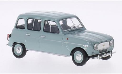 Renault 4 1/43 Eligor L grise 1961 miniature