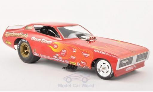 Dodge Charger 1971 1/18 ERTL American Muscle Funny Car Rambuctious NHRA 1971 diecast