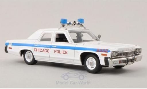 Dodge Monaco 1974 1/43 ERTL American Muscle Chicago Police 1974 miniature