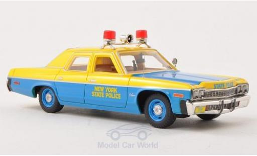Dodge Monaco 1974 1/43 Ertl New York State Police miniature