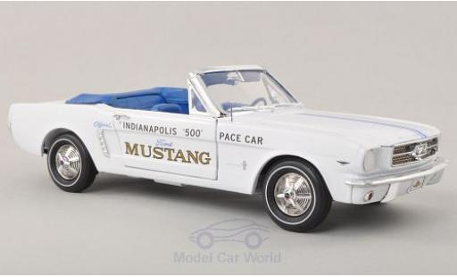 Ford Mustang 1/18 Ertl Convertible Indy 500 Indianapolis 1964 Pace Car miniature