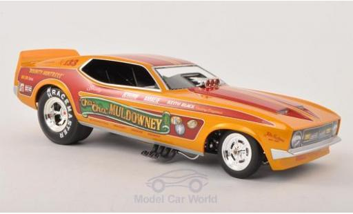 Ford Mustang 1/18 ERTL American Muscle Funny Car Cha-Cha Muldowney NHRA 1972 miniature