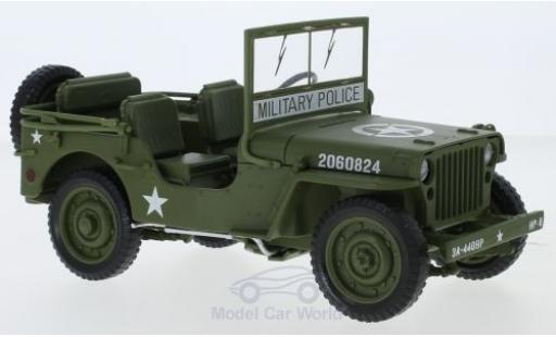 Jeep Willys 1/18 ERTL American Muscle MB oliv 1941 miniature