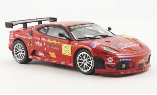Ferrari F430 1/43 Ferrari Racing Collection GTC No.82 Risi Competizione J.Melo / P.Kaffer / M.Salo 24h Le Mans 2009 y compris les magazine in Italien Sprache / Ohne Vitrine