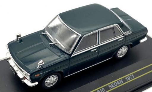 Datsun 510 1/43 First 43 Models Sedan green RHD 1971 diecast model cars