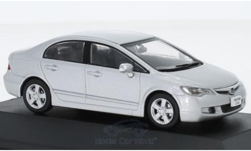 Honda Civic 1/43 First 43 Models grise RHD 2006 miniature