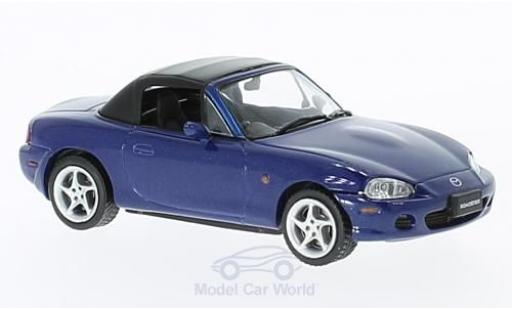Mazda MX 1/43 First 43 Models -5 Roadster metallic-bleue RHD 2001 miniature