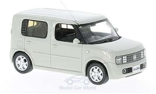 Nissan Cube 1/43 First 43 Models hellgrise RHD 2003 miniature