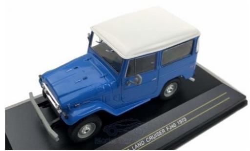 Toyota Land Cruiser 1/43 First 43 Models FJ 40 bleue 1973 miniature