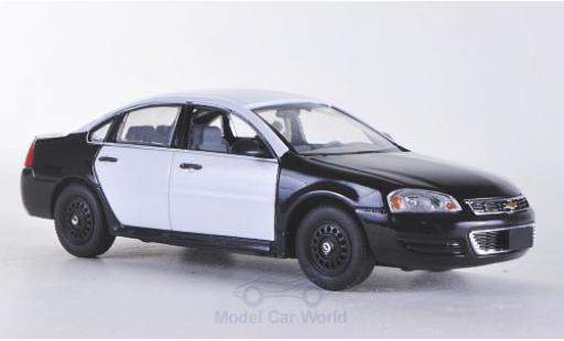 Chevrolet Impala 1/43 First Response noire/blanche 2011 mit Polizei-Zubehör miniature