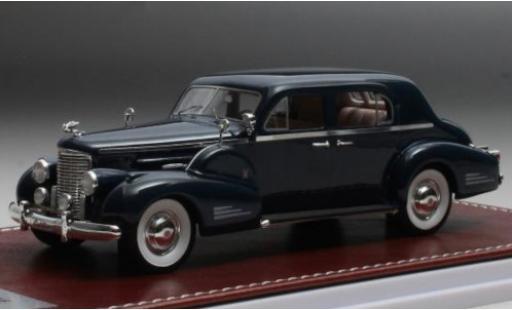 Cadillac V16 1/43 GIM   Great Iconic Models Series 90 Town Sedan bleue 1938 miniature