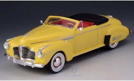 Buick Roadmaster 1/43 GLM Convertible 76C jaune 1941 miniature