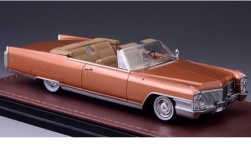 Cadillac Eldorado 1/43 GLM Convertible bronze 1965 miniature