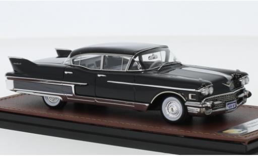 Cadillac Fleetwood 1/43 GLM 60 Special nero 1958 modellino in miniatura