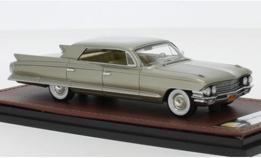 Cadillac Sedan 1/43 GLM DeVille gold 1962 miniature