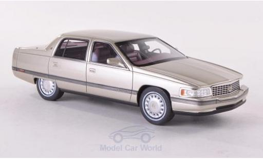 Cadillac Sedan 1/43 GLM DeVille métallisé beige 1994 miniature