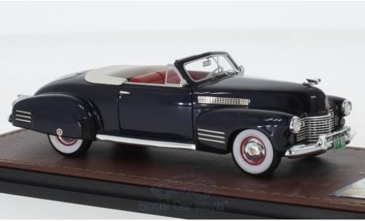 Cadillac Series 62 1/43 GLM Convertible Coupe metallise bleue 1941 miniature