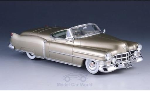 Cadillac Series 62 1/43 GLM Special Roadster métallisé beige 1952 miniature