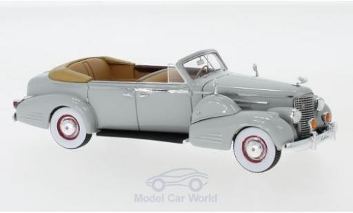 Cadillac V16 1/43 GLM Series 90 Fleetwood Sedan Convertible grise 1938 miniature