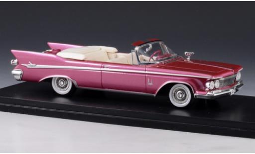 Chrysler Imperial 1/43 GLM Crown Convertible metallise rouge 1961 miniature