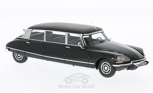Citroen DS 19 1/43 GLM Limousine noire 69 miniature