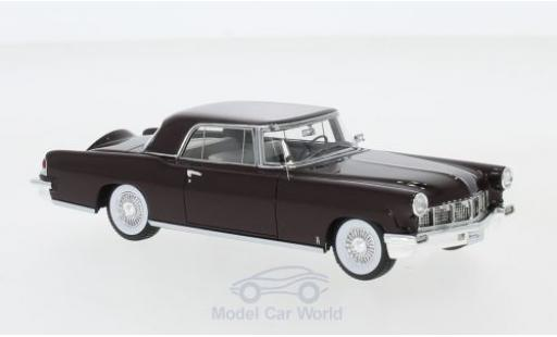 Lincoln Continental 1/43 GLM Mark II Hardtop red 1956 diecast model cars