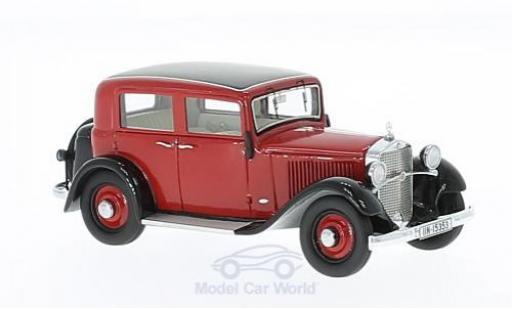 Mercedes 170 1/43 GLM W15 Limousine rouge/noire 1935 miniature