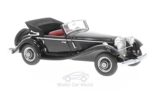 Mercedes 290 1/43 GLM A (W18) Cabriolet noire 1936 offen miniature