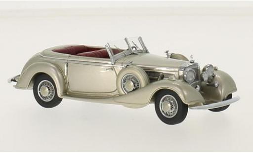Mercedes 540 1/43 GLM K Sindelfingen metallise beige 1938 miniature