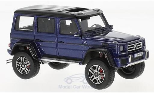 Mercedes Classe G 1/43 GLM G550 4x4 metallise bleue/noire 2016 miniature