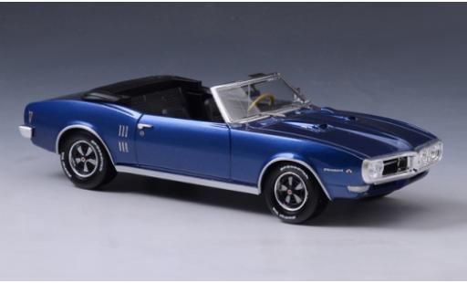 Pontiac Firebird 1/43 GLM 400 Convertible bleue 1968 miniature