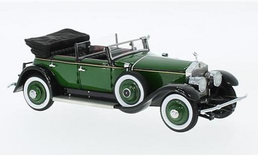 Rolls Royce Phantom 1/43 GLM Convertible Sedan verte/noire Hibbard & Darrin 1930 Marlene Dietrich S317KP miniature