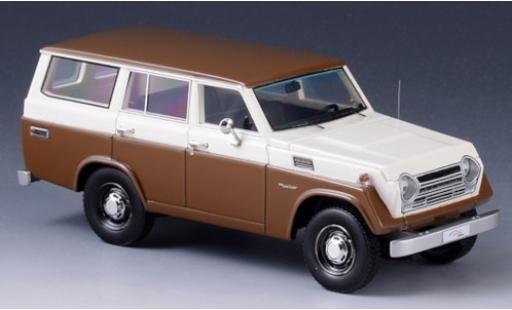 Toyota Land Cruiser 1/43 GLM FJ55 brown/white 1979 diecast model cars