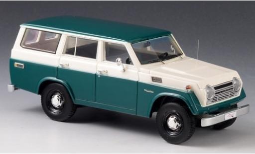 Toyota Land Cruiser 1/43 GLM FJ55 verte/blanche 1979