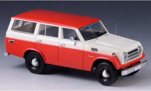 Toyota Land Cruiser 1/43 GLM (FJ55) rouge/blanche 1979 miniature