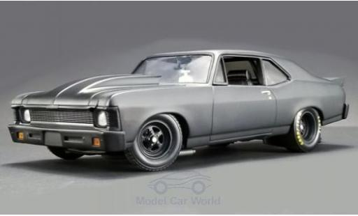 Chevrolet Nova 1/18 GMP Blackout 1320 Drag Kings matt-grey 1969 diecast