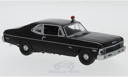 Chevrolet Nova 1969 1/43 GMP matt-noire Hunter (TV Serie) 1969 miniature