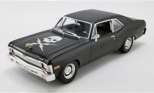 Chevrolet Nova 1/18 GMP Tuning matt-black/Dekor Death Proof 1971 diecast model cars