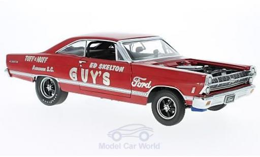 Ford Fairlane 1967 1/18 GMP 427R Lightweight rouge Ed Skeltons TUFF e NUFF miniature