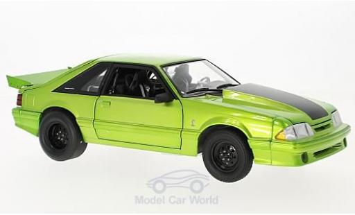 Ford Mustang 1/18 GMP Cobra King Snake verte 1993 1320 Drag Kings miniature