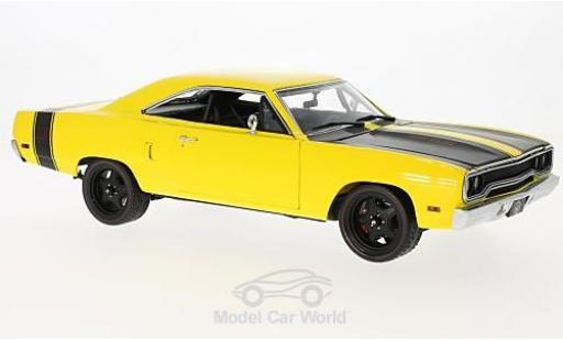 Plymouth Road Runner 1/18 GMP Street Fighter 6-Pack Attack giallo 1970 miniatura